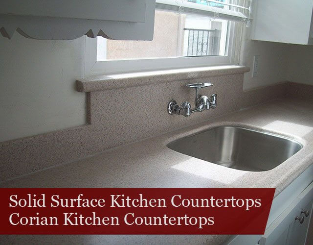Solid surface countertop thermal crack in solid surface for Cost of solid surface countertops