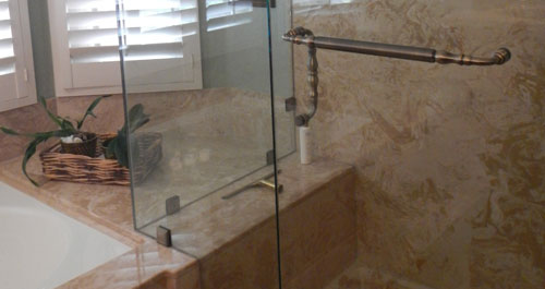 Ordinaire Bathroom Marble Countertops