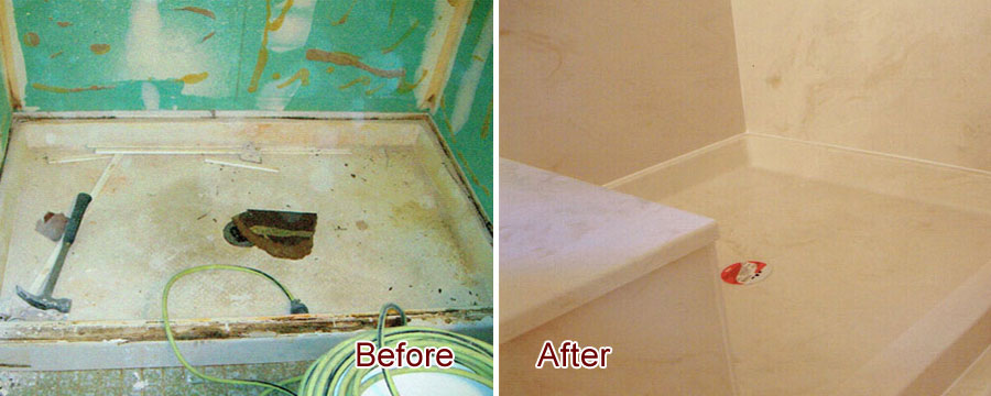Pacific Beach Shower Remodeling