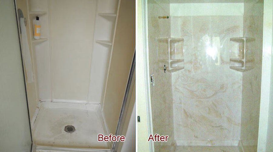 Shower Wall Replacement