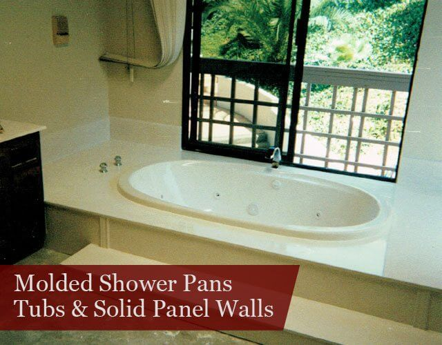 Tubs & Solid Panel Walls